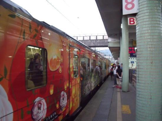 Ping Hsi Branch Railway Line : Ping Hsi Branch line train at Ruifang