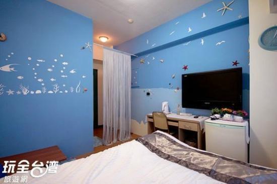 Madrid Hostel: 蔚藍海洋