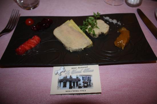 Restaurant Le Cheval Blanc: declinaisons de foie gras