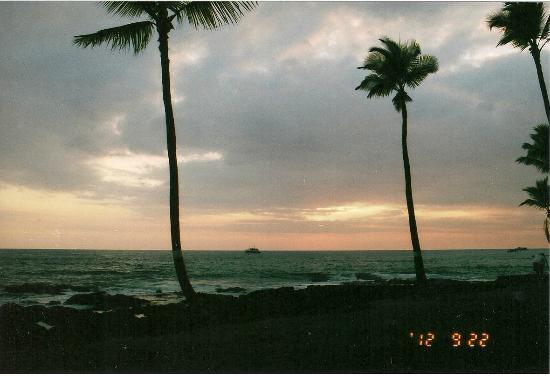 Kona Reef Resort: Sunset from Unit D5