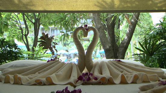 Phuket Marriott Resort & Spa, Merlin Beach: Outside the Spa