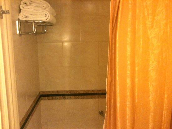 Cairo Marriott Hotel & Omar Khayyam Casino: Shower