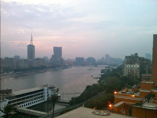 Cairo Marriott Hotel & Omar Khayyam Casino: Balcony view