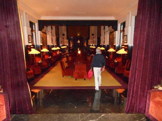 Le Grand Casino de la Mamounia : La sala interna del Bar Italiano al Mamounia Hotel