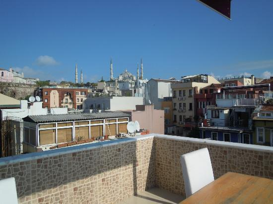 City Guesthouse Istanbul : terrazza