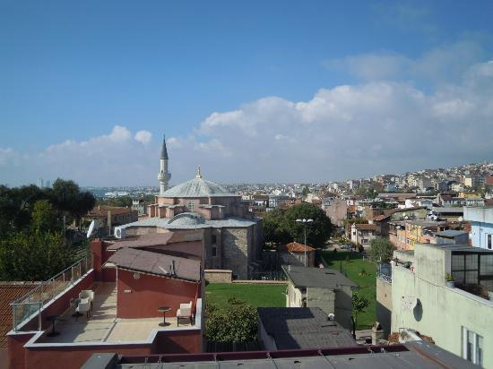 City Guesthouse Istanbul : panorama dalla terrazza