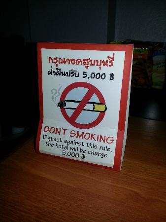 C & N Hotel: No Smoking