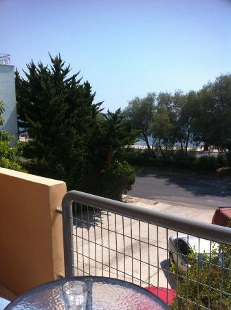 Hotel Galini Palace: Udsigt fra værelset