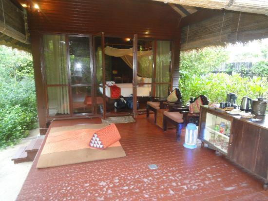 Zeavola Resort: Villa 46. The villas are quaint and thai influenced and spacious.