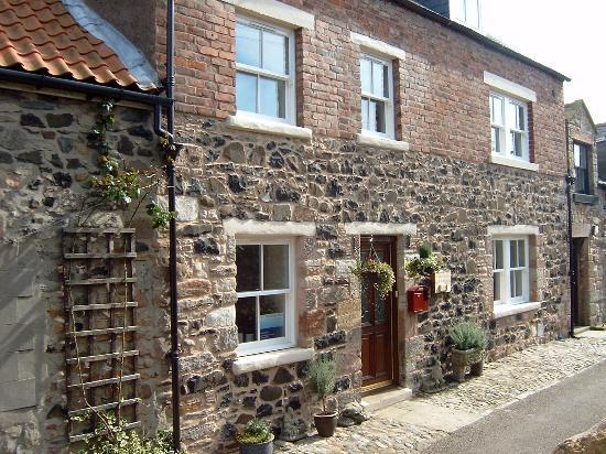 Bamburgh View Fenkle Street on Holy Island