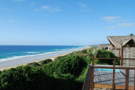 Massinga Beach Lodge: View from the room