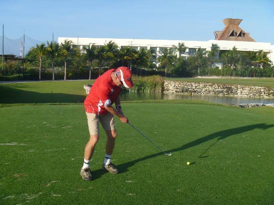 Mayan Palace Riviera Maya: Golfing at Mayan Palace