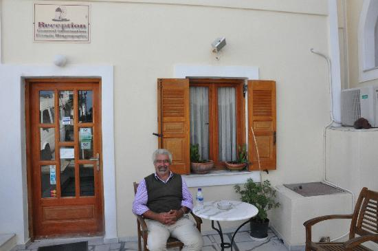 Anemomilos Suites: Stavros. Bless him