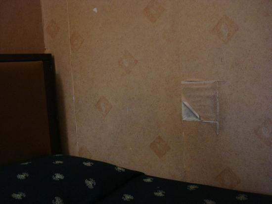 Repubblica Hotel: Tapisserie patchwork!