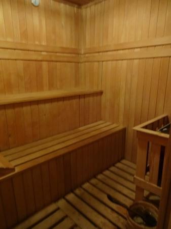 Puri Wulandari Boutique Resort: sauna room at spa