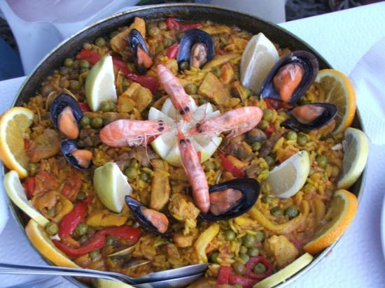El Cordero : the best paella around