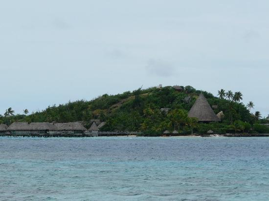 Sofitel Bora Bora Marara Beach Resort: Another and small part of Hotel - Moty Island
