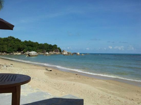 Fenix Beach Resort Samui: View of Grand Father Rock from Pool...