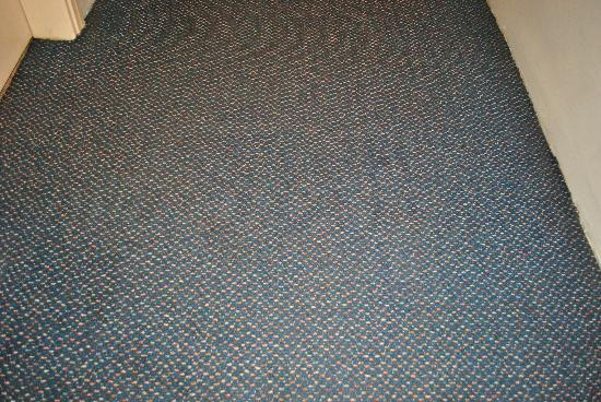 Artemis Hotel: The carpet in the corridor