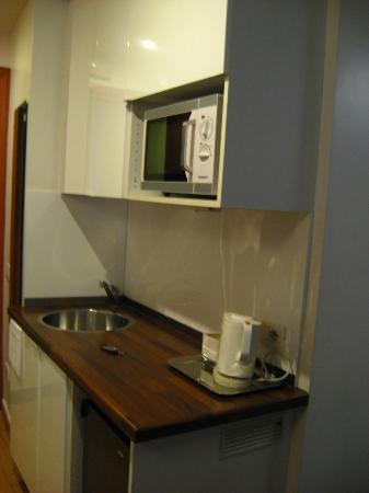 InternoUno: Kitchen in our room