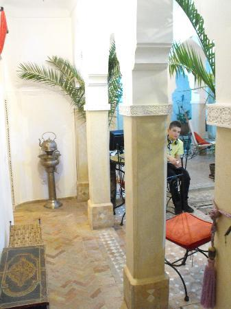Riad Les Jardins Mandaline: patio