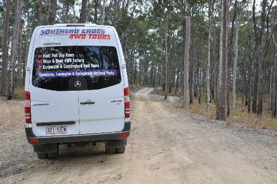 Southern Cross 4WD Tours: 4WD vehicle