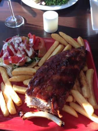 Seattle SteakHouse Restaurant: BBQ ribs