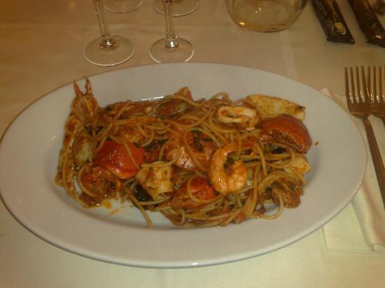 Caracoles : Spaghetti allo scoglio