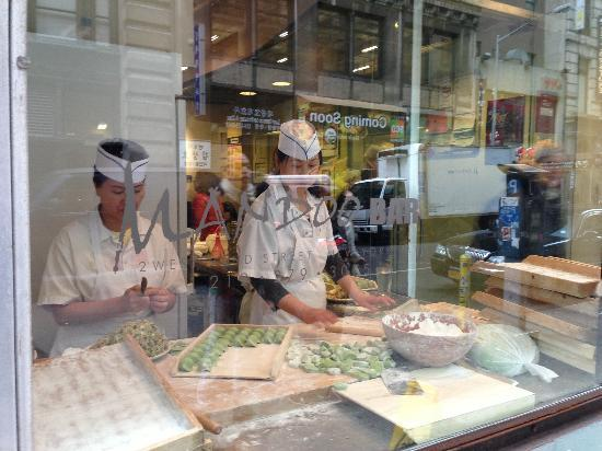 Photo of Asian Restaurant Mandoo Bar at 2 W 32nd St, New York, NY 10001, United States