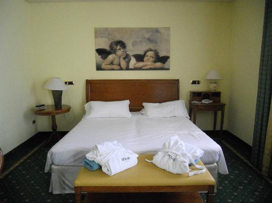 Hotel Aqua: Camera letto