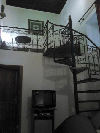 Riad al akhawaine: Bedroom Mezzanine