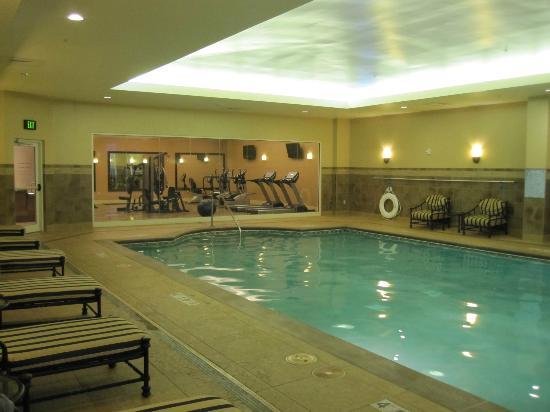 هوتل جولين دوبوك: Pool looking into fitness room
