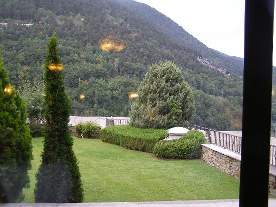 Hotel Roc de Caldes : terrasse