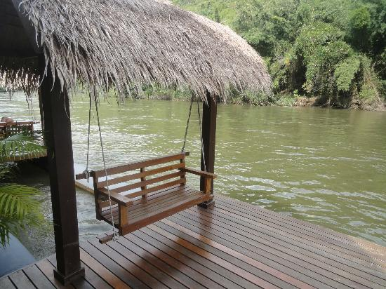 My Floating Deck With Swing Chair Picture Of The