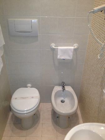 Villa Delle Rose Hotel: ottimo livello di pulizia dei servizi igienici