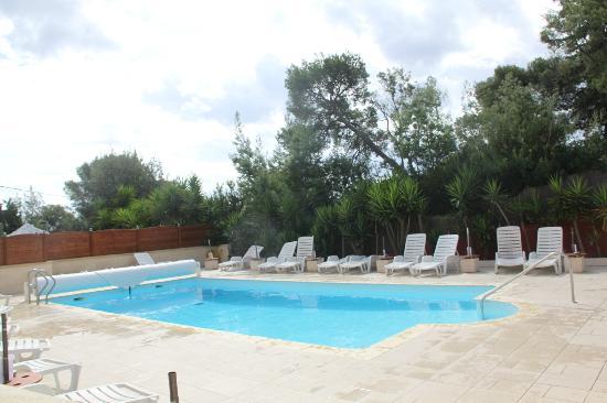 Hotel les Amandiers : piscina