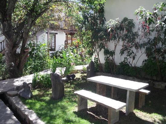 El Albergue Ollantaytambo: corner to relax