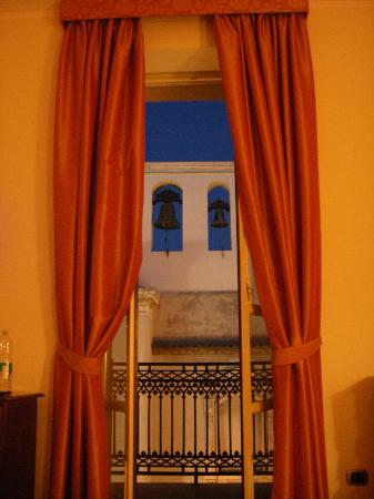 Hotel Medici : Zimmer- und Balkonausblick