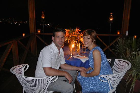 Hotel Mocking Bird Hill: Geburtstagsessen unter freiem Himmel