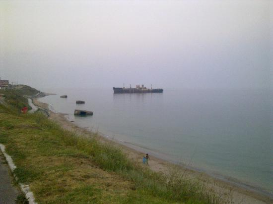 Costinesti, Roumanie : Evangelia Shipwreck 2012