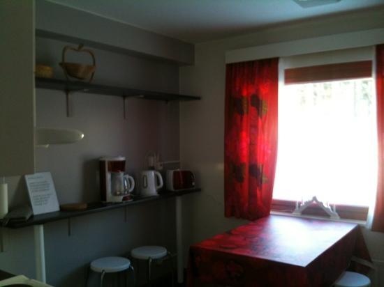 Guesthouse Borealis : cucina