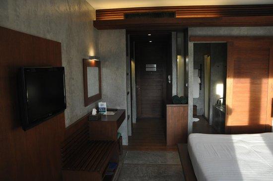 Holiday Inn Resort Krabi Ao Nang Beach: Habitación desde el balcón.