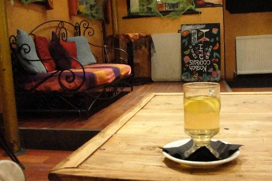Kasbah: Hot Toddy, just the thing in the sweltering heat...
