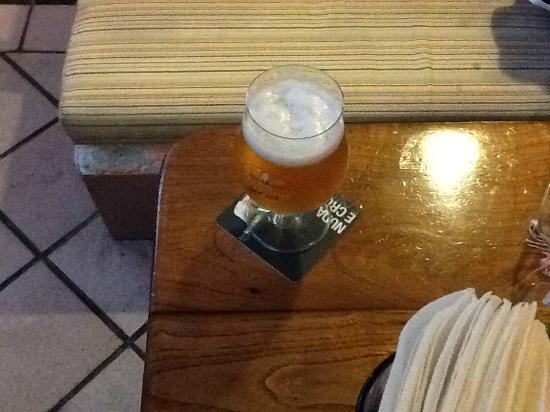 Cocktail Bar Il Cappuccino Food & Drink: un'ottima birra (sempre fresca!!)
