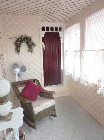 Victorian House: Vorraum zwischen Zimmer und Bad