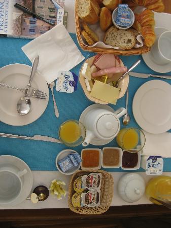 Hotel Constantin : good breakfast