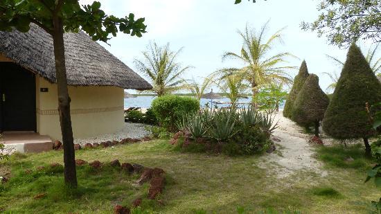 Lodge du Delta Niominka : suite vue mer