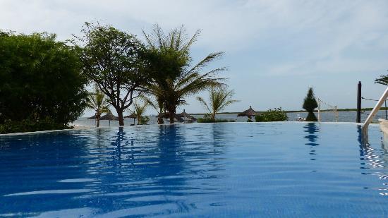 Lodge du Delta Niominka : piscine de la résidence