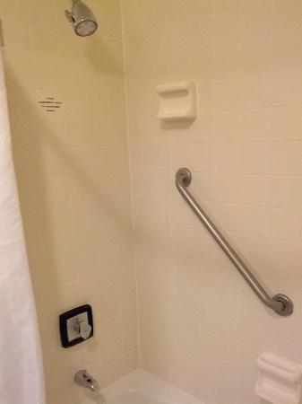 Sheraton Harrisburg-Hershey: Room 1011 - Small bathroom