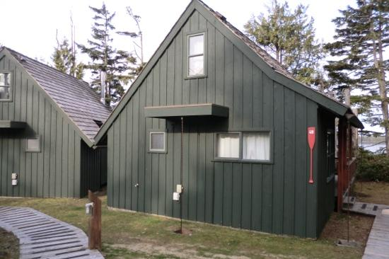 Middle Beach Lodge: cabin 49 - our home away from home